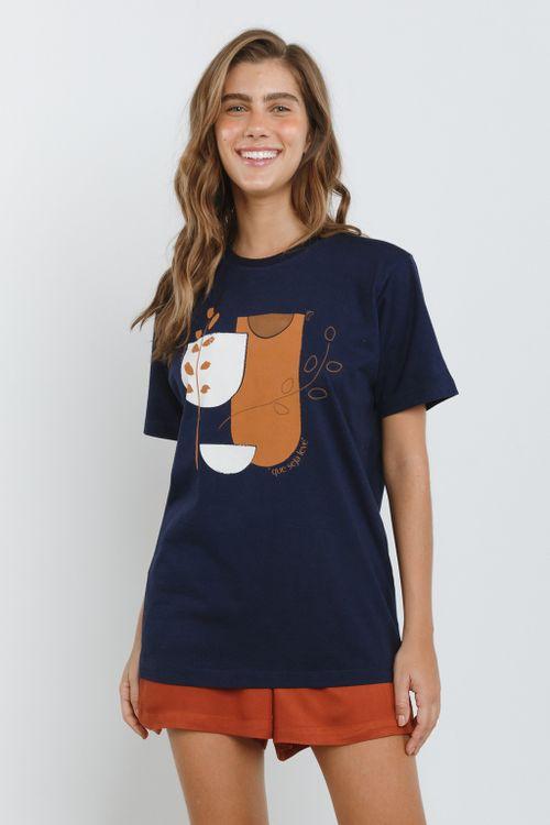 Camisa Básica Feminina Seja Leve