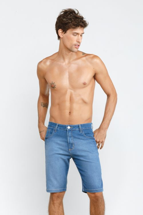 Bermuda Jeans Adulto