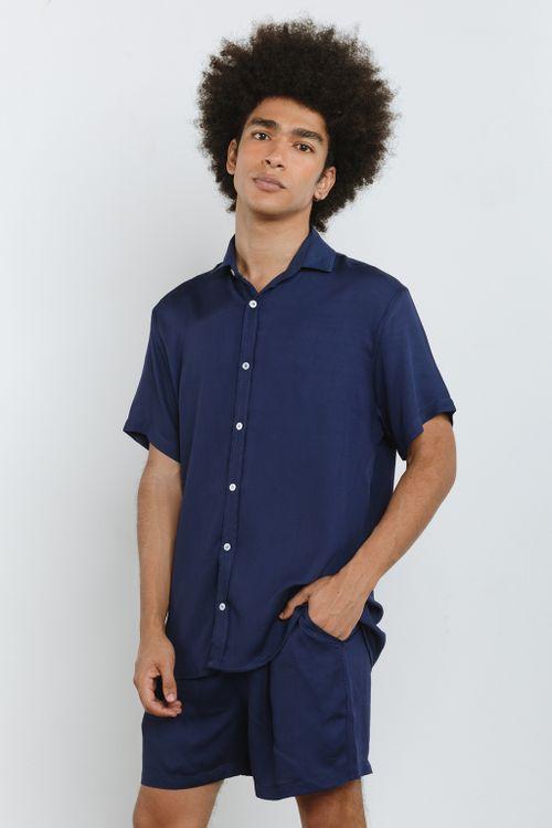 Camisa Casual Manga Curta Soft