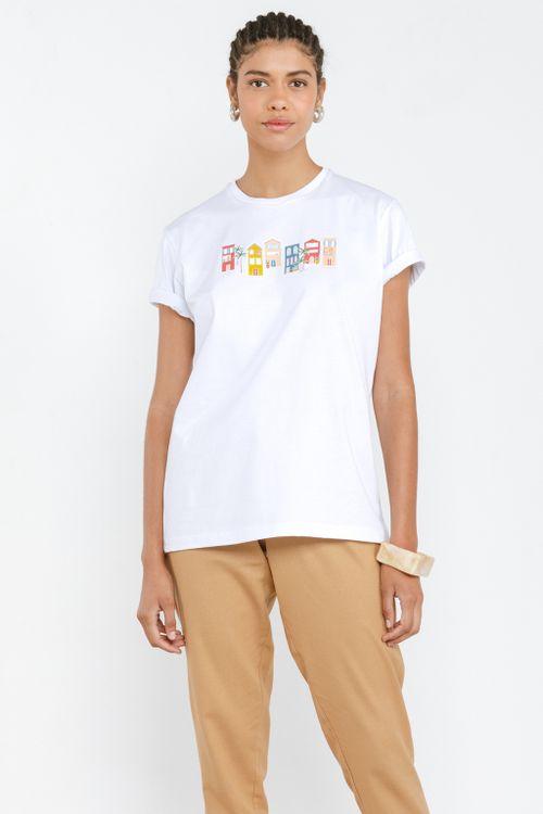 Camisa Básica Feminina Vila